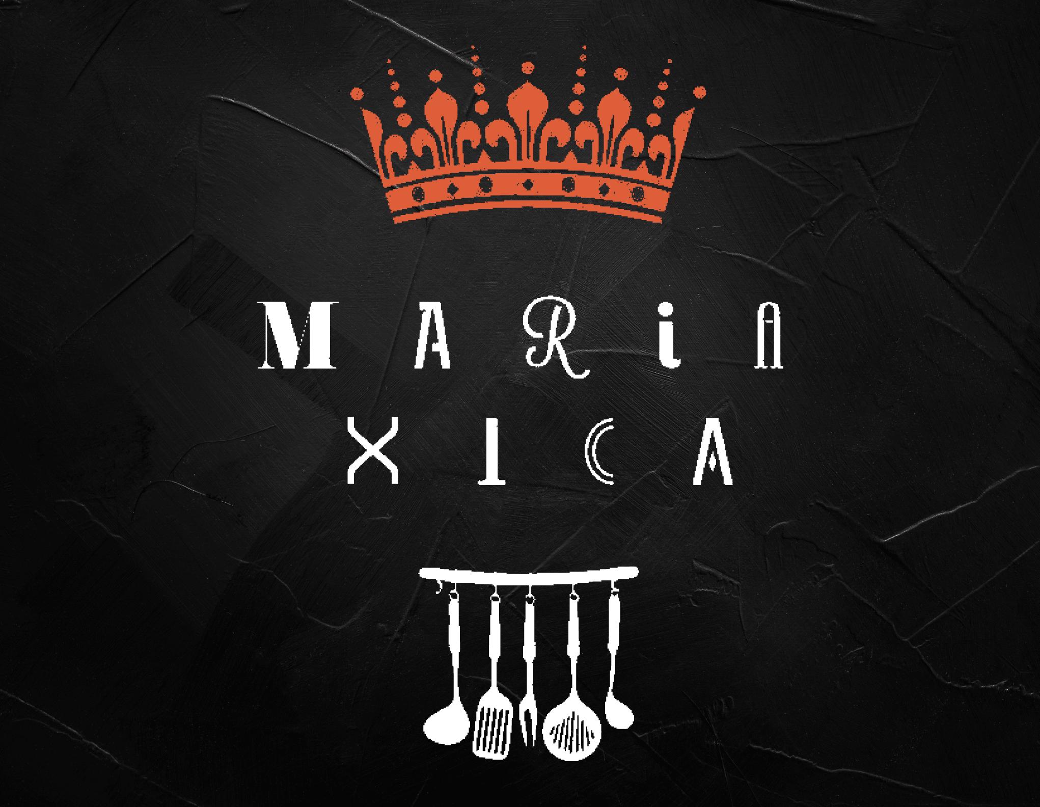 Logo Apresentação Maria Xica Portefólio